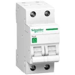 Kismegszakító R9F14216 2-C 16A RESI9 2 pólusú Schneider