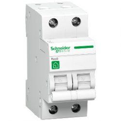 Kismegszakító R9F14240 2-C 40A RESI9 2 pólusú Schneider