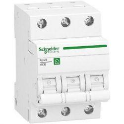Kismegszakító R9F14304 3-C 4A RESI9 Schneider 3 pólusú