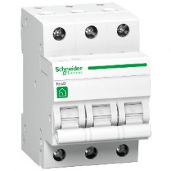 Kismegszakító R9F14316 3-C 16A RESI9 3 pólusú Schneider