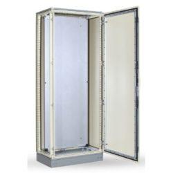 SKY815 Álló szekrény szerlappal 2000x800x400 IP55&IK10 CB-2008040 Tartalma:1,ajtó;2,hátsó panel;3,oldalsó panel;4,szerlap;5,alj,tető,lábazat, alkatrés
