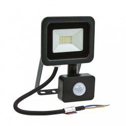 NOCTIS LUX 2 SMD 230V 10W IP44 CW fekete mozgásérzékelős, SLI029037CW_CZUJNIK SpectrumLED