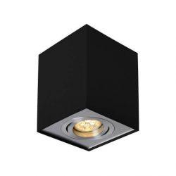 CHLOE GU10 IP20 négyszögletes fekete állítható, SLIP004006 SpectrumLED