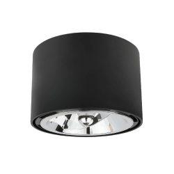 CHLOE AR111 IP20 kerek fekete, SLIP005011 SpectrumLED