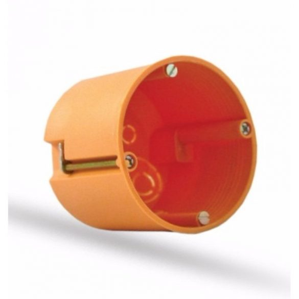 STI1013 Gipszkarton doboz 68/61mm mélyített Stilo csavarral