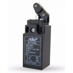 STI1033 Végálláskapcsoló egyir.műk.görg.(vízsz.), 3A/240VAC, 1NC+1NO, műa.ház, IP65, PG13,5, Stilo