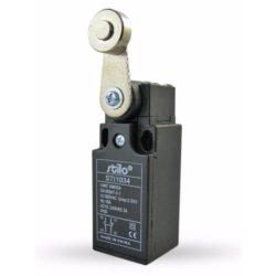 STI1034 Végálláskapcsoló karos-görgős, 3A/240VAC, 1NC+1NO, műa.ház, IP65, PG13,5, Stilo