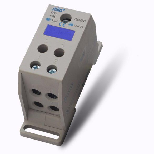 Fővezeték sorkapocs 1x 50/4x16mm2 150A szürke STI1072 Stilo