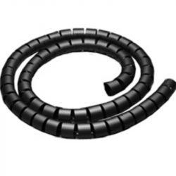 STI1086 Kábelösszefogó spirál 10mm  fekete Stilo