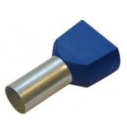 Érvéghüvely iker 2*16/16 kék STI1122 Stilo