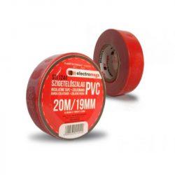 STI1244 Szigetelő szalag 20x19 piros Smihe