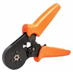 STI1313 Krimpelő Fogó 0,25-6mm2 szig., szig.len érv.hez/présszerszám, hatszögletes pofával Stilo