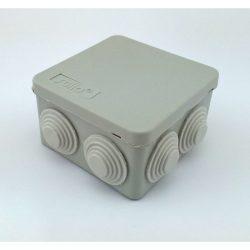 STI1494 Halogénmentes kötődoboz membrános 85x85x50  IP55  Stilo
