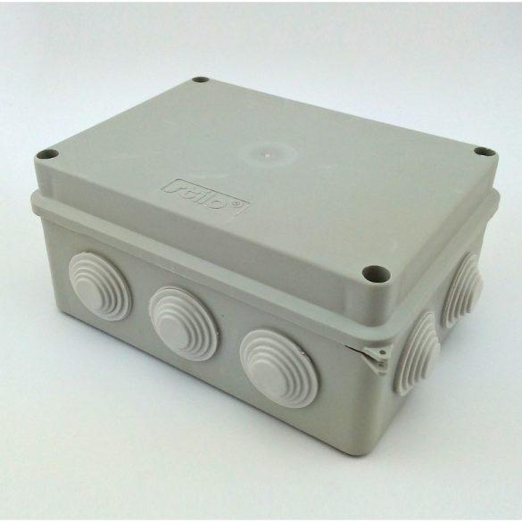 Kötődoboz 150x110x70 membrános IP65  Stilo (STI1497) /S-BOX helyett/
