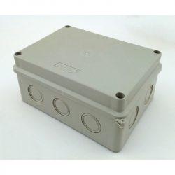 STI1503 Halogénmentes kötődoboz sima falú 150x110x70  IP65  Stilo
