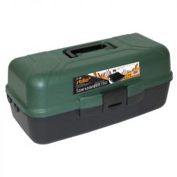 """STI1528 Stilo szerszámosláda kihajtható tárolókkal 16"""" 410x202x179mm"""