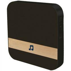 Stilo STI1572 beltéri csengő, STI1571 smart kaputelefonhoz, 230V-os hálózati aljzatba csatlakoztatva működtethető