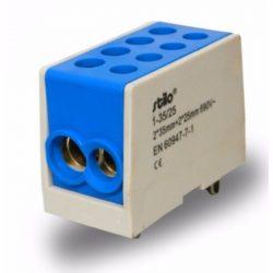 Fővezeték sorkapocs 2x 35/2x25mm2 kék HLAK 35-1/2, STI288 Stilo