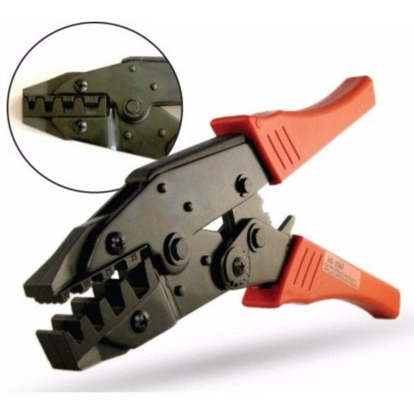 STI382 Krimpelő Fogó 0,5-6mm2 érvéghüvely Stilo