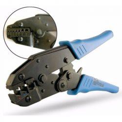 STI419 Krimpelő Fogó 0,5-6mm2 szemes saru (szig) Stilo