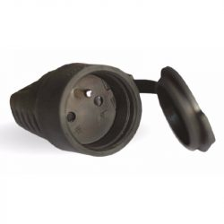 Stilo Gumi lengőalj fekete vízmentes FRANCIA STI438