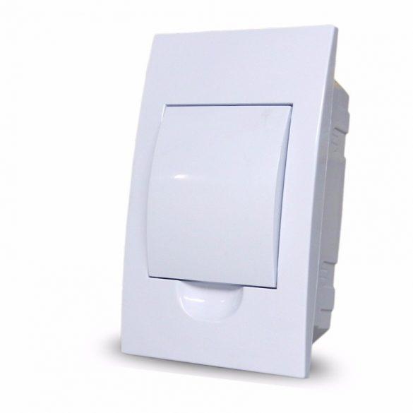 Süllyesztett elosztó STI459 STILO 1/4-mod. FEHÉR ajtós STD5 (FLUSH M.)