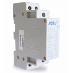 Moduláris kontaktor STI474 STCH8 25-20 230VAC,2pólus 1modul Stilo