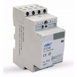 Moduláris kontaktor STI475 STCH8 25-40 230VAC, 4pólus 2modul Stilo