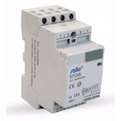 Moduláris kontaktor STI476 STCH8 40-40 230VAC, 4polus 3modul Stilo