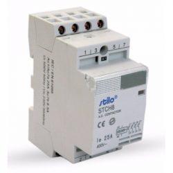 STI477 STCH8 Moduláris kontaktor 63-40 230VAC,4 pólus 3modul Stilo