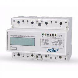 STI491 Almérő háromfázisú 20-100 A-ig fázisonként, digitális, sínre 7 modul, direkt mérő Stilo