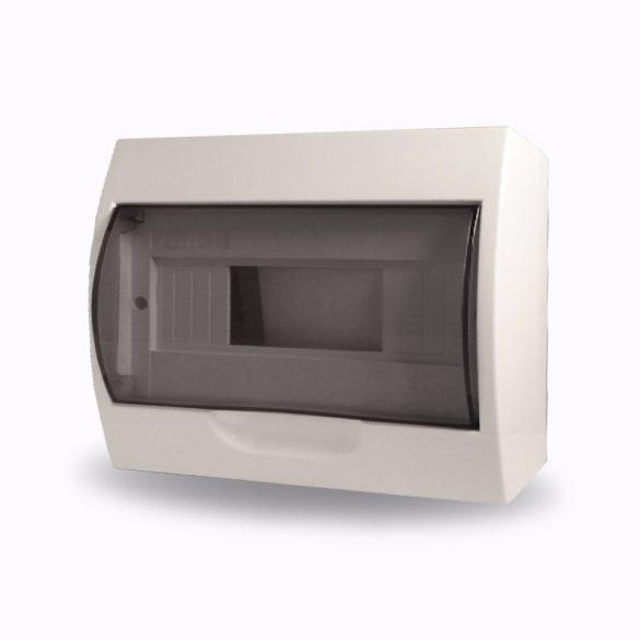 Elosztó STILO falon kívüli 1/8-modulos  STD6 STI614 füst ajtóval