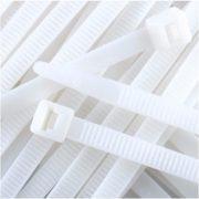 Kábelkötegelő  140x3,5 fehér STI693 Stilo