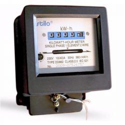 STI714 Almérő egyfázisú 10-40 A-ig direkt mérő 5 egész+0 tizedes számjegy Stilo