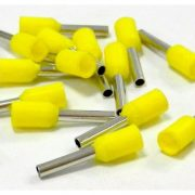 Érvég hüvely szigetelő 1,0mm/ 8 sárga E1008 STI737 Stilo