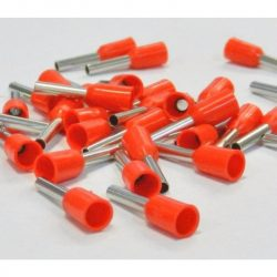 Érvég hüvely szigetelő 1,5mm/ 8 piros E1508 STI738 Stilo
