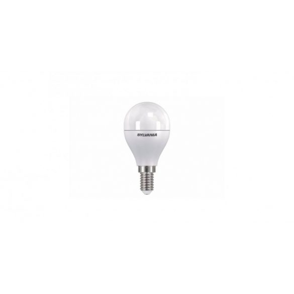 Sylvania ToLEDo Ball Frosted 26946 LED kisgömb fényf. E14 6,5W 2700K Ra80 470Lm 230V dimmelhető