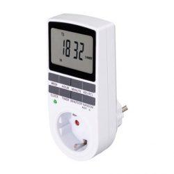 Digitális beltéri, heti időzítő óra TD011 kapcsolóóra