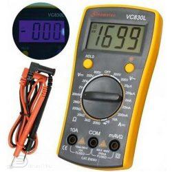 Digitális multiméter VC 830L mérőműszer