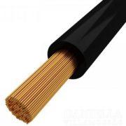 MKH vezeték 1x10mm2 fekete PVC szigetelésű sodrott réz erű H07V-K (MKH)