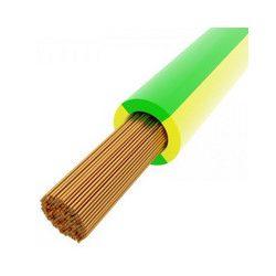 MKH vezeték 1x16mm2 zöld-sárga PVC szigetelésű sodrott réz erű H07V-K (MKH)