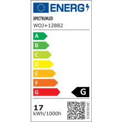 LED AR111 G53 12V 17W SMD CW LED izzó, WOJ12882 SpectrumLED