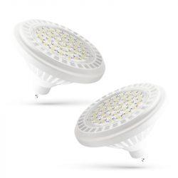 LED AR111 GU10 SMD 11W 230V WW 24° LED izzó, WOJ13844 SpectrumLED