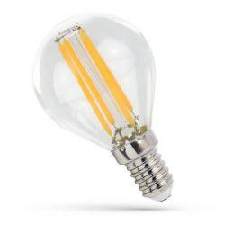 LED Kisgömb E14 230V 4W COG WW üveg, WOJ14071 SpectrumLED