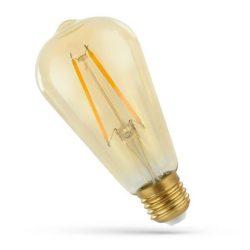 LED ST64 E27 230V 2W COG WW RETRO, WOJ14079 SpectrumLED