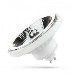 LED AR111 GU10 230V 15W SMD 45° NW fehér házas, WOJ14153 SpectrumLED