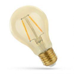 LED A60 E27 230V 5W COG WW Retroshine Spectrum Retró izzó, WOJ14459 SpectrumLED