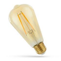 LED ST58 E27 230V 5W COG WW Retroshine Spectrum Retró izzó, WOJ14460 SpectrumLED
