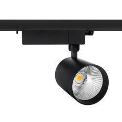 MDR GEMINA2 230V 19,5W 40° Fekete sínes LED lámpatest, WOJP03377 SpectrumLED