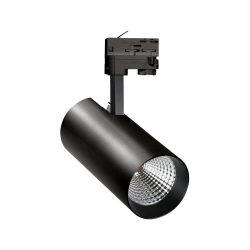 MDR BRANTA 1 840 230V 27W 15° fekete sínes LED lámpatest, WOJP03755 SpectrumLED